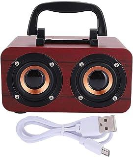 YIHEXUANkeji Bluetooth-luidspreker 6mm handgemaakte houten luidspreker hoge gevoelige luidspreker voor mobiele telefoon pc...