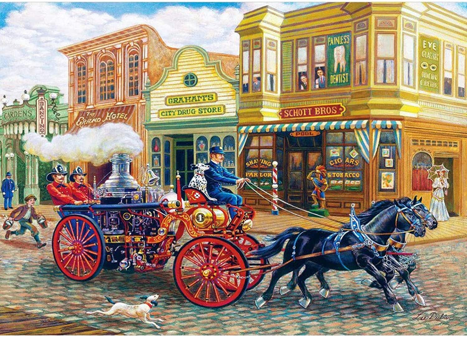 Puzzle House Wooden Jigsaw Puzzle, Memory Of Uptown, 500 1000 Pieces Puzzles Game For Adults & Kids,Decorative Painting 504 (Size   1000pc)