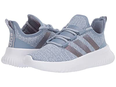adidas Kids Kaptir (Little Kid/Big Kid) (Tactile Blue/Footwear White/Sky Tint) Girls Shoes