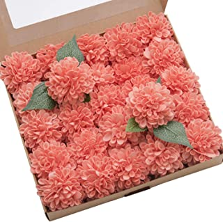 fresh coral flowers