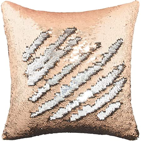 55cm x 55cm Teal Large Sparkle Sequin Cushion Cover
