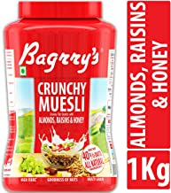 Bagrry's Crunchy Muesli Crunchy Oat Clusters with Almonds,Raisins and Honey , 1000g