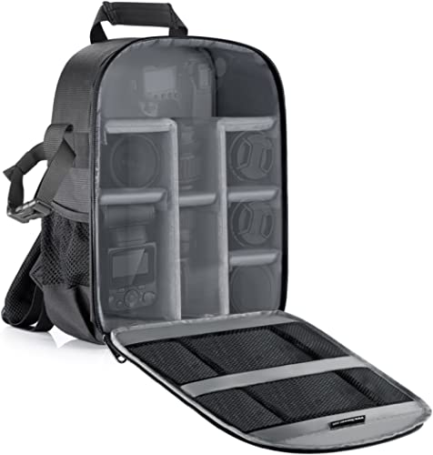 Neewer Camera Bag Water Resistant Shockproof Partition 11x6x14 inches/27x15x35 Centimeters Protection Backpack for SL...
