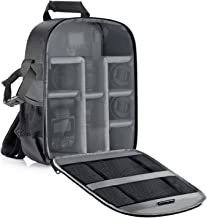 Neewer Camera Backpack Flexible Partition Padded Bag Shockproof Insert Protection for SLR..