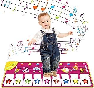 Piano Musical Mat, Kids Dancing Mat Keyboard Playmat, Soft B