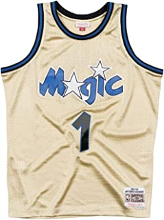 Mitchell & Ness Anfernee Hardaway Orlando Magic Men's Gold Throwback Jersey