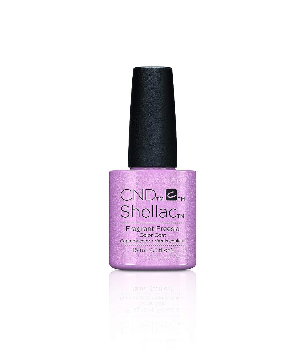 東ティモール前奏曲治すCND Shellac - Fragrant Freesia - 7.3 mL / 0.25 oz