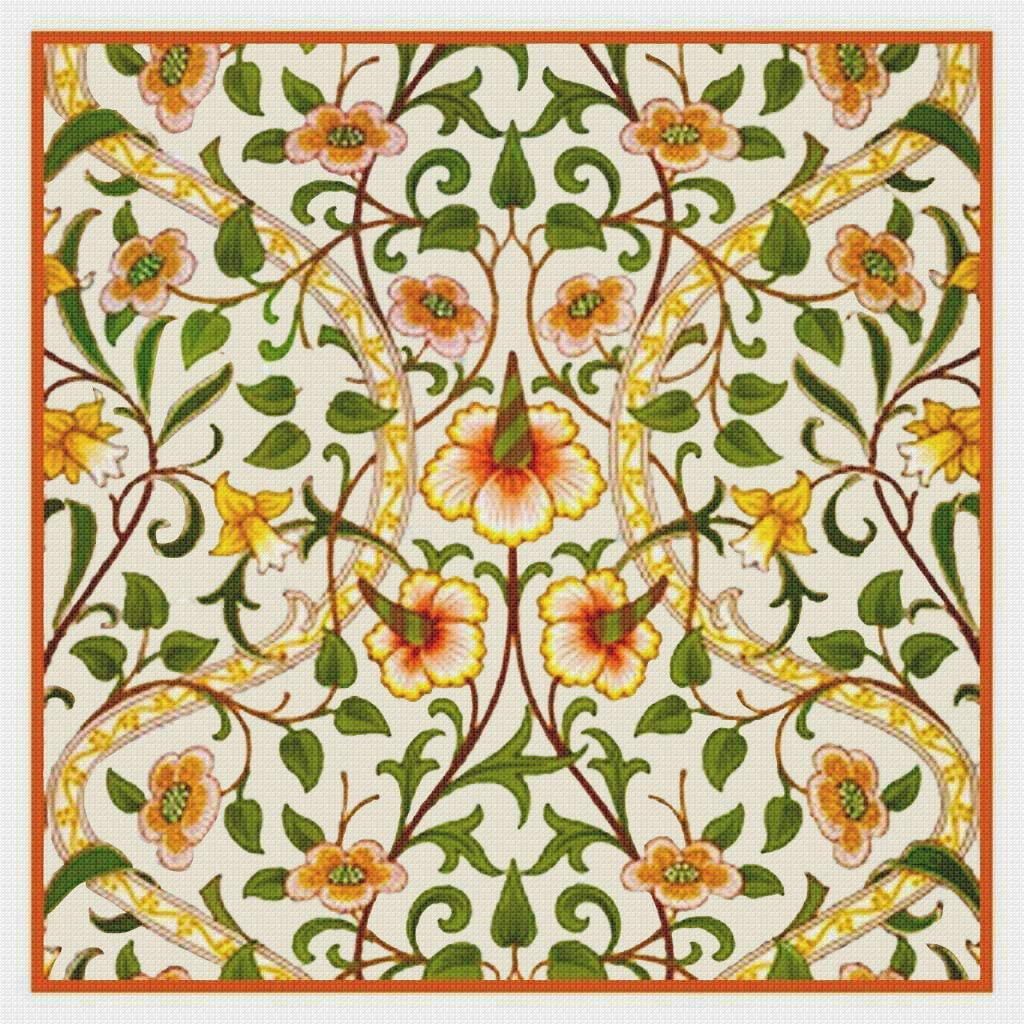 Orenco Originals Long-awaited William Morris Daffodils Cou Year-end gift DesignWith Needles