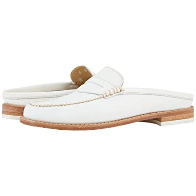 G.H. Bass & Co. Wynn Weejuns (White Leather) Women