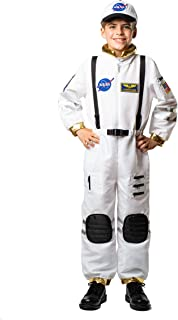 Kids Astronaut Commander Costume for Boys and Girls