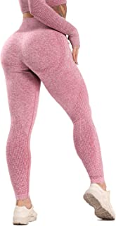 CFR Women's High Waist Workout Vital Seamless Leggings Butt Lift Yoga Pants Stretchy Fitness Gym Tights