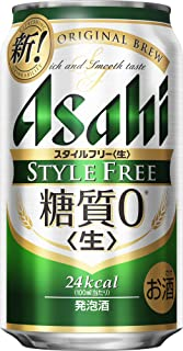 【糖質ゼロ】【発泡酒】アサヒスタイルフリー [ ビール 350ml×24本 ]
