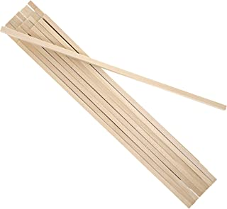 Bright Creations Square Wood Dowel Rods for DIY Crafts (25 Count)