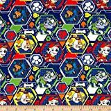 1 Yard - 'Mission Pawsible' Paw Patrol Characters on Navy Blue Cotton Fabric - Officially Licensed (Great for Quilting, Sewing, Craft Projects, Quilt, Throw Pillows & More) 1 Yard X 44