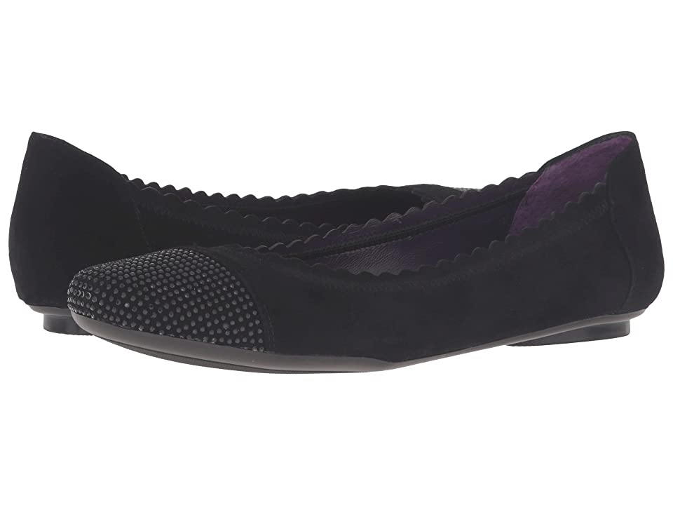 Vaneli Bunnie (Black Suede/Black Nails) Women