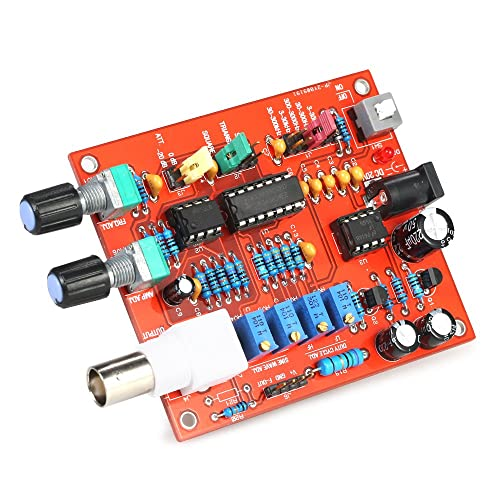 KKmoon FG8038(ICL8038) Function Signal Generator Module DIY High Precision for Square/Triangle/Sine Wave Output 3Hz-300kHz Adjustable Frequency Amplitude
