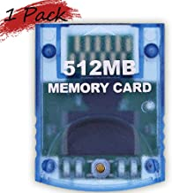 Memory Card 512MB(8192 Blocks) for Nintendo Wii Game Cube NGC Gc