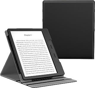 MoKo Compatible con All-New Kindle Oasis Case(solo 10ª e 9ª Generazione, 2019 e 2017 Release),Copertura di Vibrazione Vert...