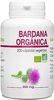 Bardana (Raíz) Orgánica - Arctium lappa - 250mg - 200 cápsulas vegetales