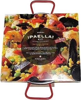 Mini Paella Kit with Pan in Gift Box by Peregrino