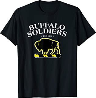 Buffalo Soldiers Shirt Civil War T-Shirt