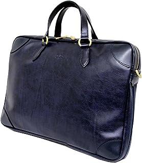十川鞄 Brighton ブライトン アポロ 2way ビジネス ブリーフケース ショルダーバッグ B4 エキスパンダブル 日本製 ネイビー BAP-14010 NV