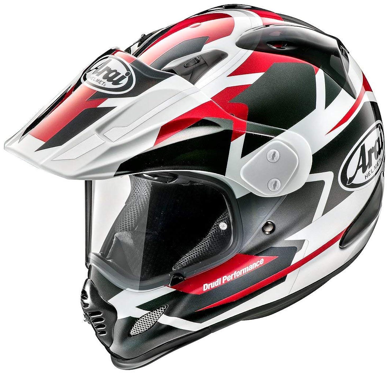 作成者わずらわしいドナーアライ (ARAI) バイクヘルメット オフロード ツアークロス3 デパーチャー (DEPARTURE) 赤 57-58cm TX3-DEPARTURE-RD_57