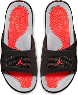 b91a08e9229 Eligible for FREE Delivery. Jordan Hydro IV Retro Flip Flops Men Black