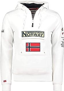 Geographical Norway Gymclass - Sudadera con Capucha para Hombre