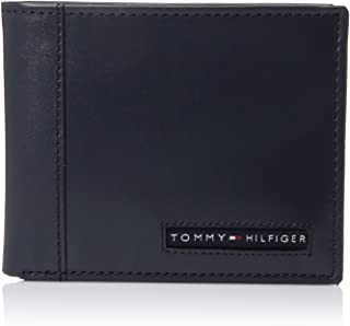 Tommy Hilfiger Men's Leather Cambridge Passcase Wallet With Removable Card