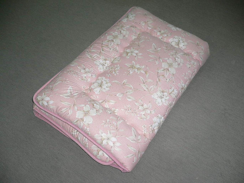 コート今それるエブリ寝具ファクトリー 柄おまかせ 抗菌防臭防虫防ダニ加工 羊毛混固敷ふとん 日本製 (ピンク)