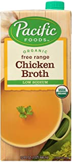 Pacific Foods Organic Low Sodium Chicken Broth, 946 ml
