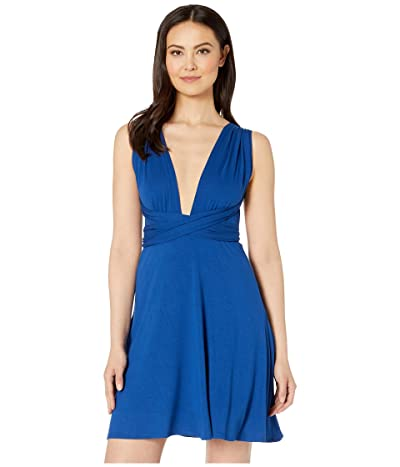 Kenneth Cole Cover Me Multi-Way Convertible Dress (Marine) Women