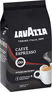 Lavazza Café Espresso Medium Roasted Coffee Beans, 1kg