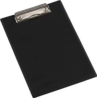 Viquel - Porte bloc A5 avec pince en métal pour tenir les documents - Noir