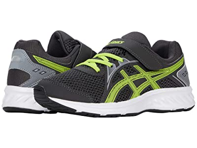 ASICS Kids Jolt 2 PS (Toddler/Little Kid) (Graphite Grey/Lime Zest) Boys Shoes