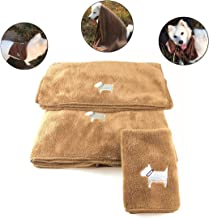 B Baosity 2pcs 43 x 32cm Absorbente Toalla de Secado R/ápido para Perro Gatos