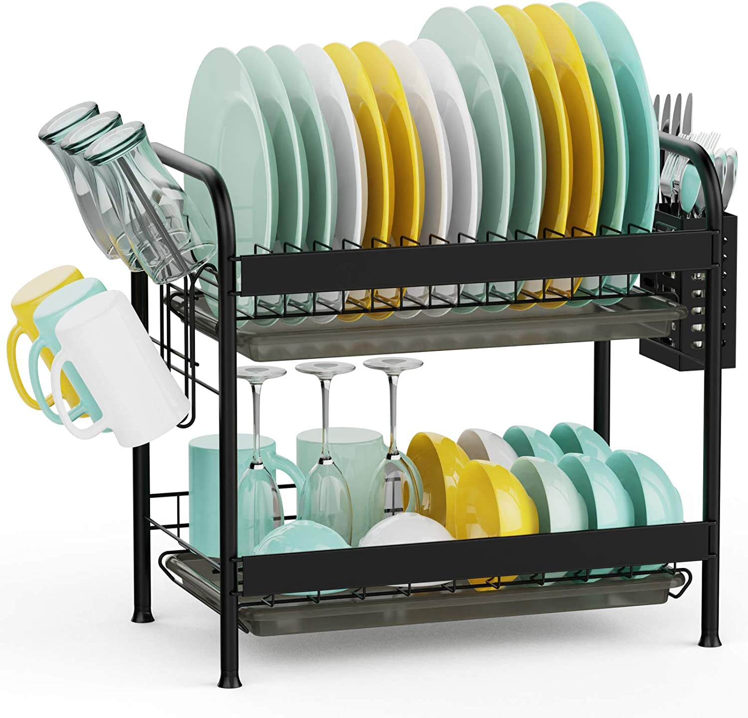 Over The Sink Dish Drying Max 44% OFF Rack D Veckle Ranking TOP9 Premium Steel Stainless