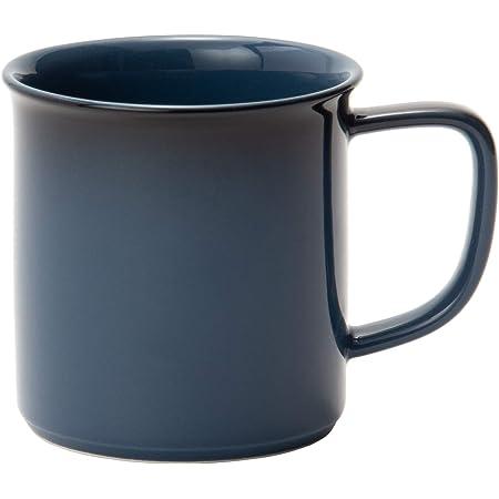MIKASA マグカップ ブルー 直径8×高さ8.5cm 280ml 電子レンジ・食洗機・オーブン対応 T-784075