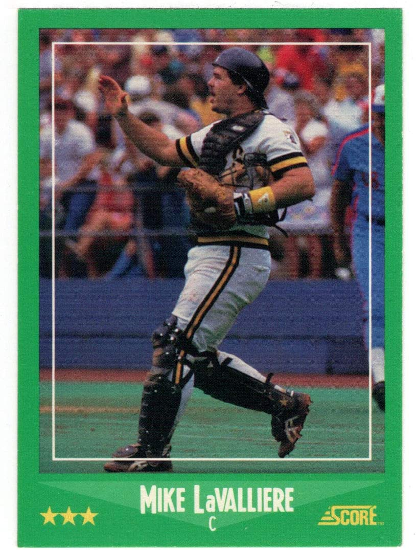 Mike LaValliere - Mail order Pittsburgh Pirates Sale Score 1988 Card Baseball