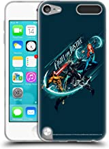 Official Aquaman Movie Fight for Justice Graphics Soft Gel Case Compatible for Apple iPod Touch 5G 5th Gen