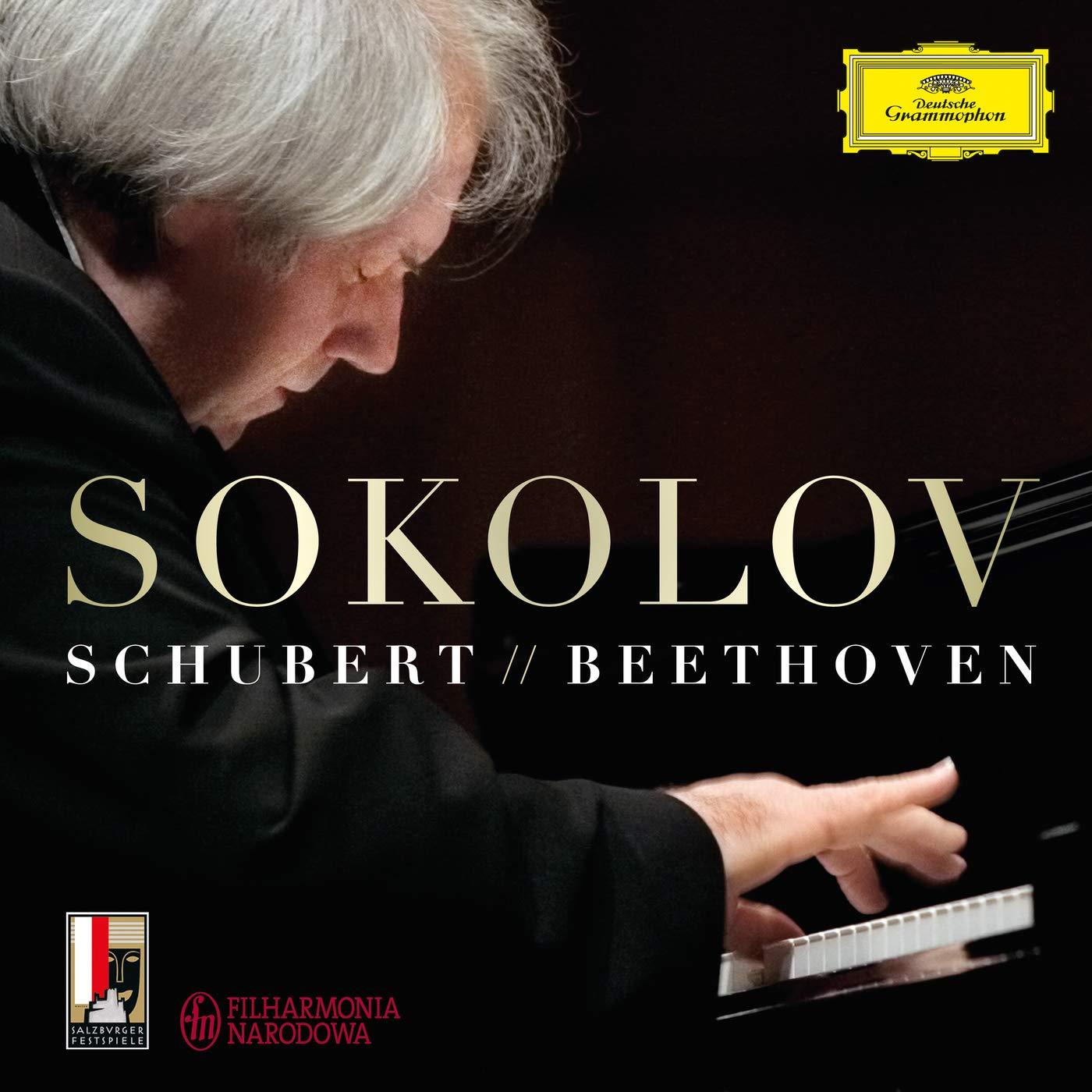 Schubert & Beethoven: Grigory Sokolov, Franz Schubert & Ludwig van ...