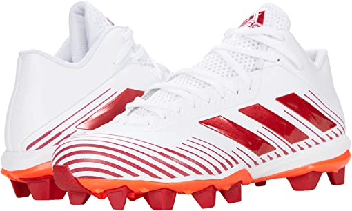 Footwear White/Team Power Red/Solar Red