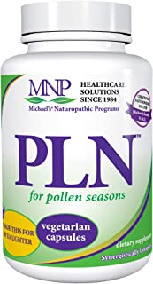 Michael's Naturopathic Programs Formula PLN - 50 Vegetarian Capsules - Supports Healthy Histamine Production, Contains Gre...