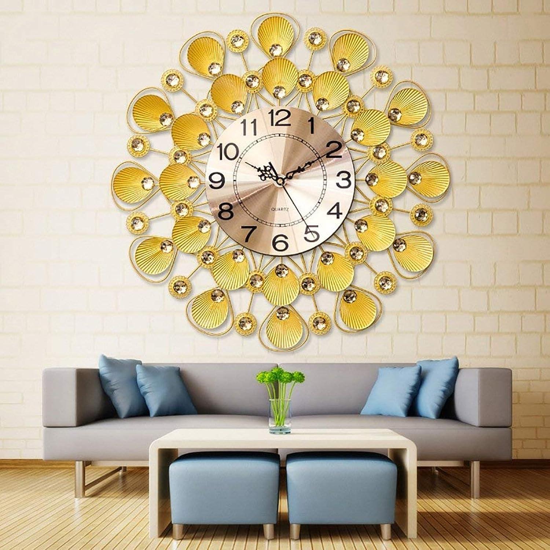 ChuanHan Modern Shell Simple Art Pocket Watch Creative Clock Quartz Mute