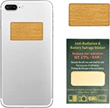 6 Pack - EMF Protection Cell Phone Anti Radiation Protector Sticker, Negative Ions EMF Blocker for Mobile Phones,Laptop and All Electronic Devices