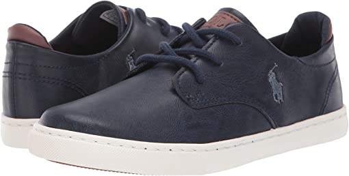 Navy Burnished/Grey Pony