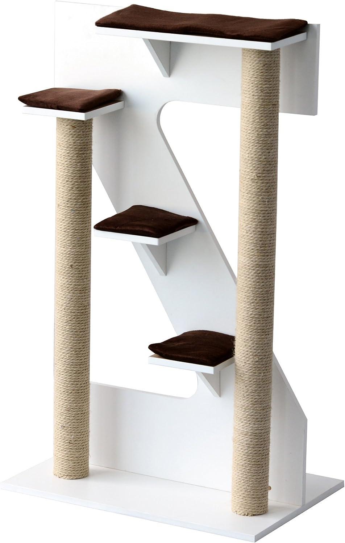 PawHut D30163 Activity Post Pet Furniture White