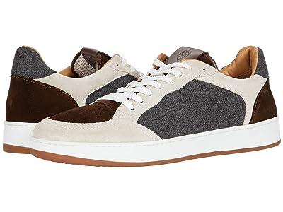 eleventy Mix Media Tennis Sneaker