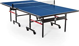 STIGA Advantage Competition-Ready Indoor Table Tennis Table 95% Preassembled Out of the Box with Easy Attach and Remove Net (Renewed)